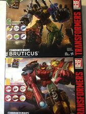 Transformers Combiner Wars G2 Bruticus And Computron Sets