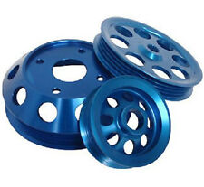 Ralco RZ Performance Pulley Kit Blue for 89-98 Nissan 240SX S13 S14 w/ SR20DET