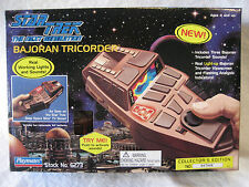 Playmates STAR TREK Next Generation BAJORAN TRICORDER w/original BOX cosplay toy