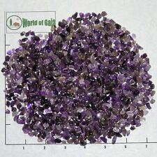 AMETHYST Medium to Dark, 5-11mm tumbled 1/2 lb bulk xmini+ stones purple