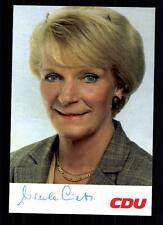 Ursula Lietz autographe carte original signée # BC 29281