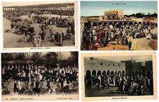 AFRICA AFRIQUE du NORD TYPES et MARCHÉS 78 CPA plutot pre-1940