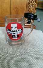 Novelty Beer Mug Tankard In an Emergency Ring For Beer Ideal Mans Gift
