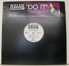"NELLY FURTADO DO IT MISSY ELLIOTT TIMBALAND SAY IT RIGHT 12"" MAXI SINGLE (i563)"