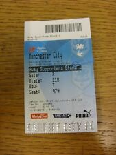 25/08/2013 Ticket: Cardiff City v Manchester City  . Thanks for viewing this ite
