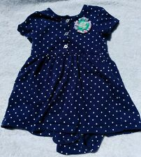 Infant baby girls clothing 18 months outfit dress CARTERS