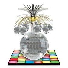 33 cm Disco Ball Centrepiece - 70's Party Table Decorations - 1970's Decoration