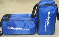 2 Walgreens Medical bags Insulated cooler, Soft Collapsible Lunch box  Totes