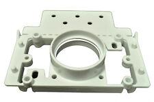 """Central Vacuum PVC 2"""" Pipe 3Way Mounting Plate Finished (New Construction)"""