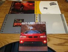 Original 1997 1998 1999 2000 2001 Pontiac Grand Prix Sales Brochure Lot of 5