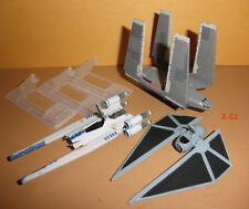 STAR WARS ROGUE 1 TITANIUM lot TIE STRIKER U-wing FIGHTER imperial CARGO shuttle