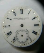 Rare 29mm Henry Birks & Sons Montreal Depose Watch Movement For repairs N25