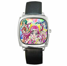 anime PRETTY CURE ultimate his hers girls boys gift leather wrist watch