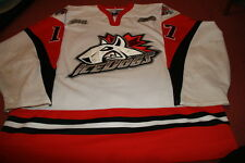 LUCA CAPUTI 06'07 White Signed Niagara Ice Dogs Game Worn Jersey used w COA