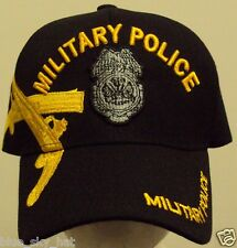 LICENSED DELUXE U.S. ARMY MILITARY POLICE CORPS MP UNIT COMBAT WAR AGENT CAP HAT