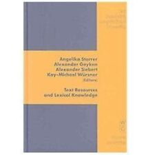 2008-09-16, Text Resources and Lexical Knowledge: Selected Papers from the 9th C