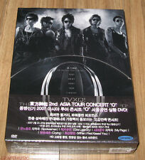 TVXQ DONG BANG SHIN KI 2ND Asia Tour Concert 'O'  DVD + PHOTOBOOK SEALED
