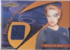 STAR TREK 40TH ANNIVERSARY C34 SEVEN OF NINE 7 OF 9 COSTUME CARD VOYAGER