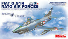 Fiat G.91R Nato Air Force 1/72 Meng Model