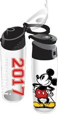Disney Mickey Mouse 20oz 2017 Flip Top Plastic Bottle Stacked Water