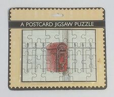 Post Office Counters Ltd Postcard Jigsaw Puzzle Postcard VGC Rare Collectable