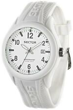 Orologio SECTOR STEELTOUCH R3251576009 Silicone Bianco Uomo Donna Unisex