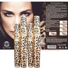 2 Sets (4 Tubes)Love Alpha LA729 Mascara Leopard Case Gel Fiber Set