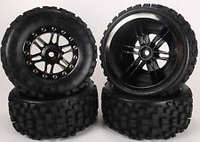 SCT slash truck tires Big Block Black Chrome