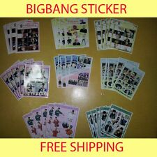 BIGBANG BIG BANG Sticker #2, 8X5 Total 40  - GD TOP Fantastic YG LOSER MADE
