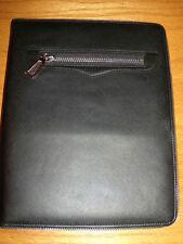 Black Leather Rebecca MInkoff Maddie Ipad Cover Folio Case