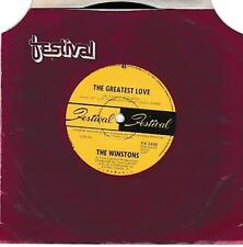 THE WINSTONS (OZ  45 )  GREATESTST LOVE b/w BIRDS OF A FEATHER  - AUSTRALIA
