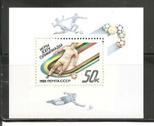 Russia SC # 5685 Seoul Summer Olympics - Soccer - . Mint Never Hinged
