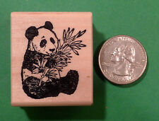 Panda Bear, Wood Mounted Rubber Stamps