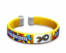 Child Autism Awareness Bracelets (Wholesale Pack - 25 Bracelets)