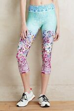 Anthropologie Nanette Lepore Antoinette Yoga Capri Leggings Running L Nwt