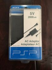 *NIB* OEM Sony PSP AC Adaptor 5V 2000mA PSP Charger PSP-100u/98522