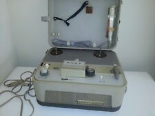 Sony Tapecorder TC-102, Vintage 70s Reel To Reel Recorder with Microphone