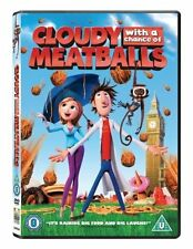 Cloudy with a Chance of Meatballs 1 DVD Brand New and Sealed Original UK Release