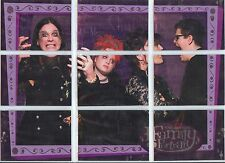 The Osbournes Full 9 Card Family Portrait Puzzle Chase Set from Inkworks