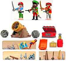 Playmobil 5778 Pirates and Cannon only - 2005 version - mint condition