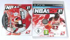 "PS 3 PLAYSTATION 3 gioco ""nba2k11 Basket"" COMPLETO"