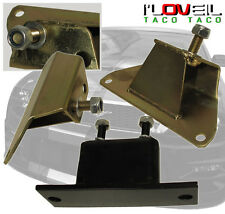 1986-1995 FORD MUSTANG FOX BODY 5.0L V8 ENGINE MOTOR SOLID TRANS MOUNT KIT