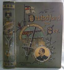 Deutschland zur See. - Kaiser Wilhelm II. Nord- und Südlandfahrten. 2 Bände in 1