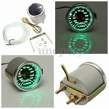52mm LED Turbo Boost Vacío Medidor Gauge Reloj Indicador For Coche Auto Dial PSI