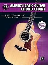 Alfred's Basic Guitar Library: Alfred's Basic Guitar Chord Chart : A Chart of...