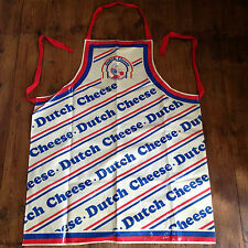 Vintage DUTCH CHEESE Cooking APRON Rare Collectable BBQ Fancy Dress Cooking Etc