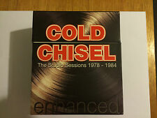 COLD CHISEL THE STUDIO SESSIONS 1978 - 1984 RARE BOX SET    ENHANCED CDS