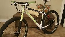 Cannondale Flash Carbon 3 Size L 29er 2012 (F29) - Carbon Hardtail Lefty