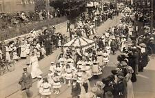 Bournemouth Carnival ? May Queen ? RP old pc used July 1911 Stanford Boscombe