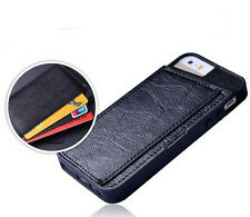 New Wallet Flip Leather Case Cover For Apple iPhone 5 5S